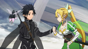 Kirito y Leafa Aarun