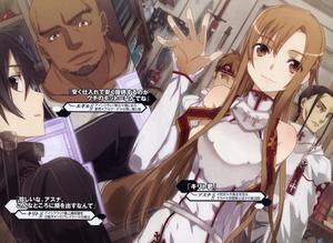 Kirito y Asuna novela