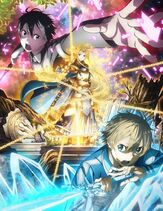 SAO Alicization anime KV
