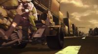 Kirito und Sinon fliehen vor Death Gun