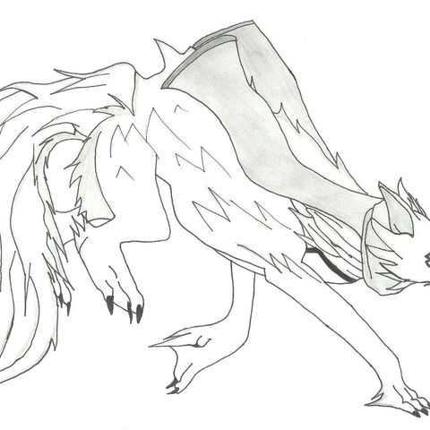 A porcupine/fox mix with light armor