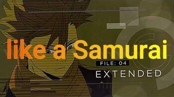 ID Invaded Episode 4 Insert Song MIYAVI - Samurai 45 Lyrics Video