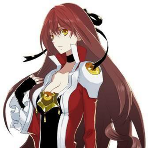 Ashe's early SAO avatar.