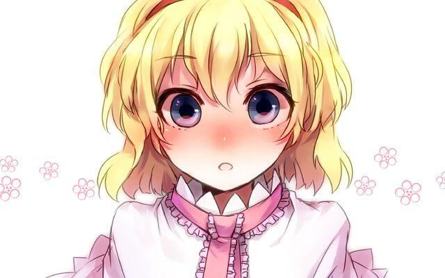 Image Touhou Blue Eyes Short Hair Alice Margatroid Anime Girls Jpg