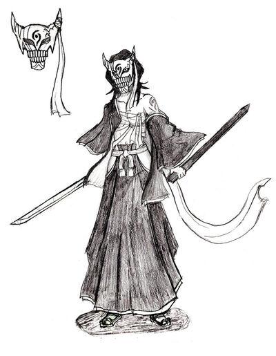 The Vizard Rukia Kuchiki by Ravenwind137