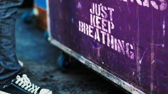 We The Kings - Just Keep Breathing (Official Lyric Video)