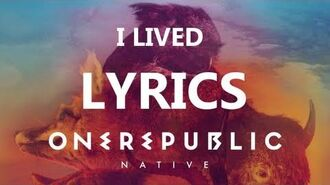 One Republic - I Lived - Lyrics Video (Native Album) -HD--HQ-