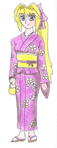 Sakura-Yukata