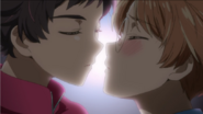 Kazuki and Enta attempt to kissing