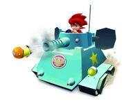 Ape Escape 2 Hikaru Tank