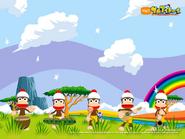 EyeToy Monkey Mania Wallpaper 3