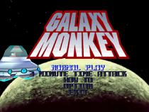 Galaxy Monkey Main Screen