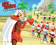 Ape Escape Academy Wallpaper 1
