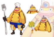 SaruSaru Big Mission - Yellow Monkey Concept Art