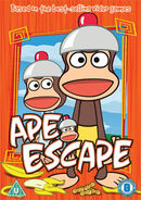 Ape Escape Cartoon DVD