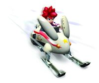 Ape Escape 2 Snowmobile Jimmy