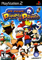 Ape Escape Pumped and Primed USA Cover
