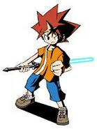 Saru Battle Character Concept 2
