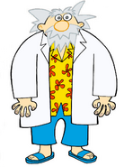 Professor Cartoon