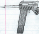 C-7 Stinger Gauss Pistol