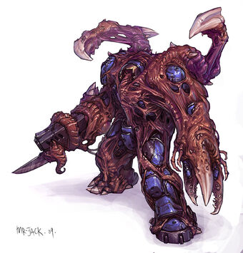 Infested Space Marine