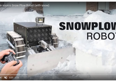 SnowplowRobotOpensourceelectronicsOrg