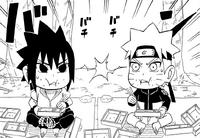 Sasuke and Naruto competition