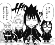 Sasuke and his group