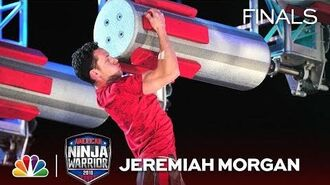 Jeremiah Morgan at the Dallas City Finals - American Ninja Warrior 2018