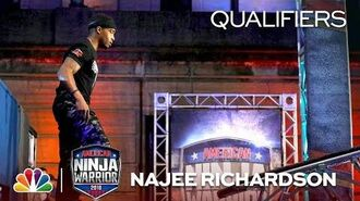 Najee Richardson at the Philadelphia City Qualifiers - American Ninja Warrior 2018