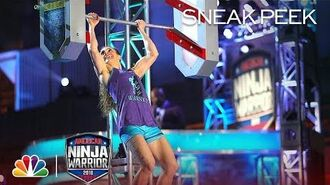 American Ninja Warrior - Michelle Warnky at the Philadelphia City Finals (Sneak Peek)
