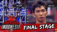 Angga Cahya 'Teknik Harus Cukup Baik Di Pipe Slider' Sasuke Ninja Warrior Indonesia 1 Mei 2016