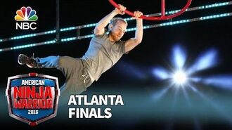Brett Sims at the Atlanta Finals - American Ninja Warrior 2016