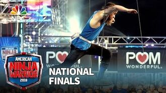 Jake Murray at the National Finals- Stage 1 - American Ninja Warrior 2016