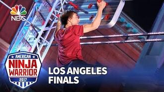 Charlie Andrews at the Los Angeles Finals - American Ninja Warrior 2017