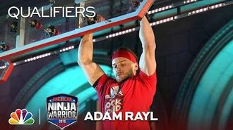 Adam Rayl at the Los Angeles City Qualifiers - American Ninja Warrior 2018
