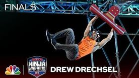 Drew Drechsel at the Vegas Finals- Stage 2 - American Ninja Warrior 2018