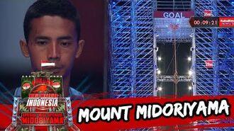 Jajang Wildan 'Satu Satunya Menuju Mount Midoriyama' Sasuke Ninja Warrior Indonesia 5 Jun 2016