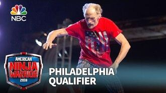 John Loobey at the Philadelphia Qualifier - American Ninja Warrior 2016