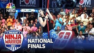 Nick Hanson at the Las Vegas National Finals- Stage 1 - American Ninja Warrior 2017