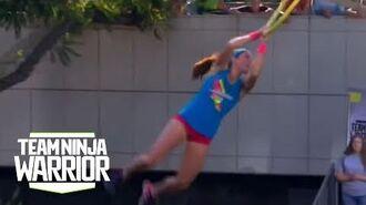 Season 2, Episode 11- Jesse Labreck Flies Through The Course - Team Ninja Warrior