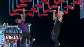 Andrew Philibeck Holds Off Sean Darling-Hammond (S1 E9) - American Ninja Warrior- Ninja Vs