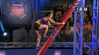 Andrea Ha Full Run Australian Ninja Warrior 2017