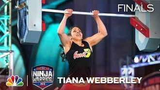 Tiana Webberley at the Los Angeles City Finals - American Ninja Warrior 2018