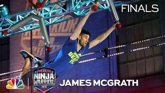 James McGrath at the Philadelphia City Finals - American Ninja Warrior 2018