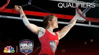 Nicole Martinez at the Indianapolis City Qualifiers - American Ninja Warrior 2018