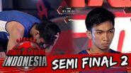 Angga Cahya 'Pusing Langsung Benarkan Rambutnya' Sasuke Ninja Warrior Indonesia 24 Apr 2016