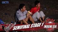 SASUKE NINJA WARRIOR INDONESIA - Angga Cahya Di Semi Final Stage 1 16 September 2017