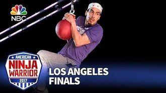 Gabe Hurtado at the Los Angeles Finals - American Ninja Warrior 2017