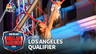 Grant McCartney at the Los Angeles Qualifier - American Ninja Warrior 2016